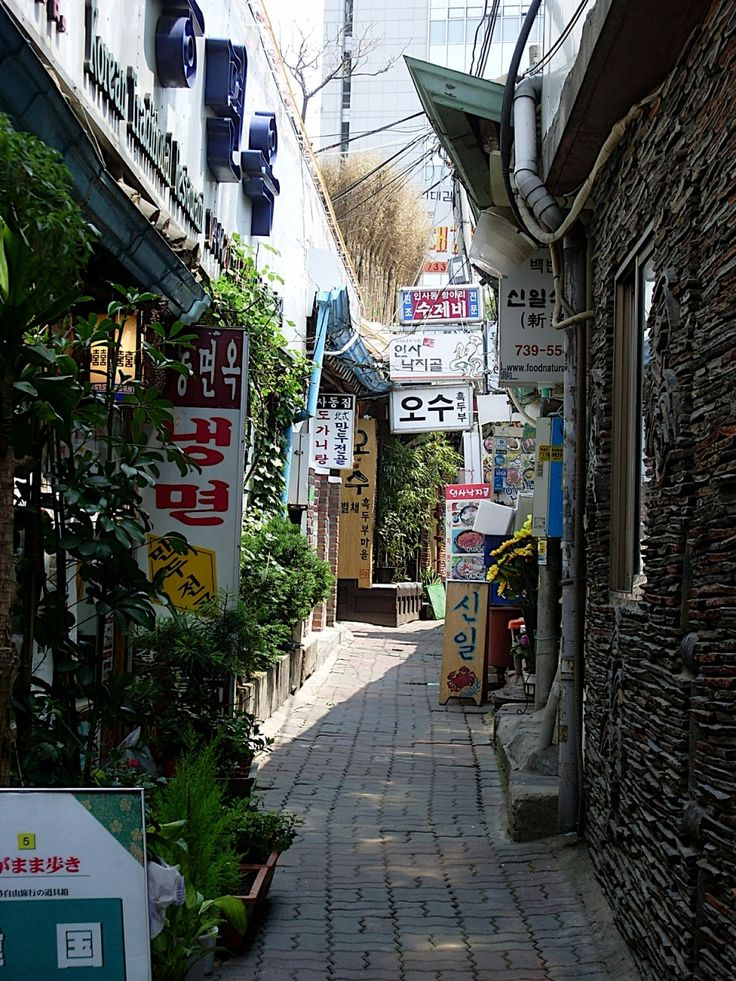 Alleys of Seoul (Source)