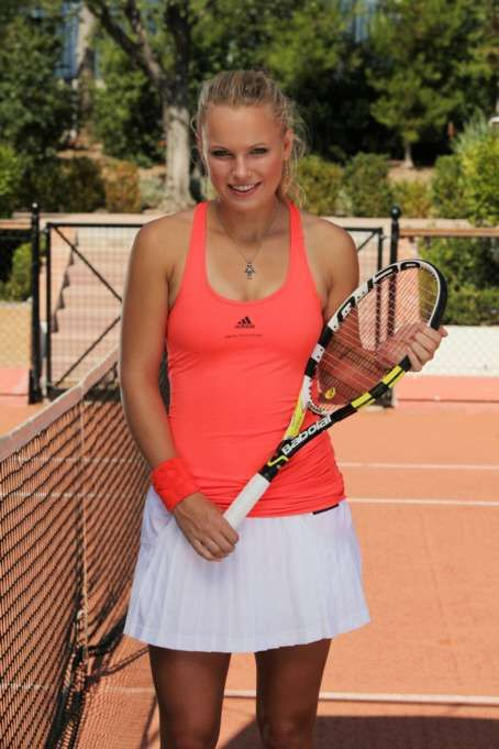 Caroline Wozniacki Wants to Know Why You're Staring at Her