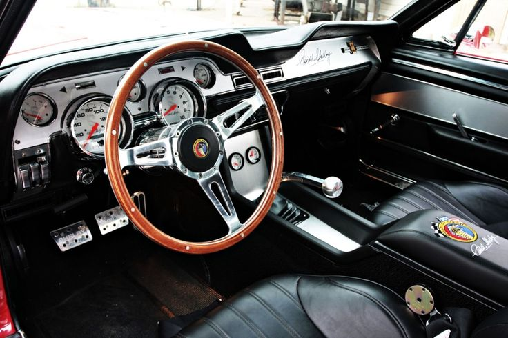 interior of the 1967 shelby gt500cr by creative. Black Bedroom Furniture Sets. Home Design Ideas
