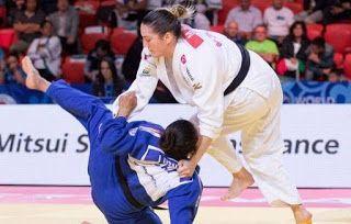 Blog Esportivo do Suíço:  Por estrangulamento, Mayra Aguiar perde no 'golden score' e é prata em Abu Dhabi