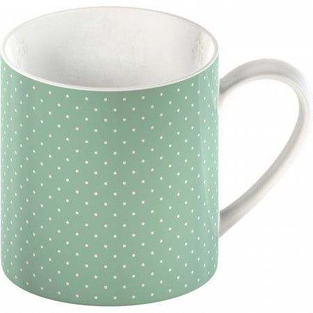 Blue spot mug