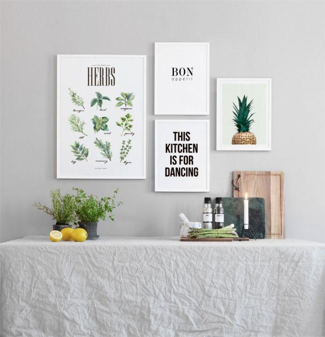 Poster voor keuken met kruiden | Keuken poster en posters op internet