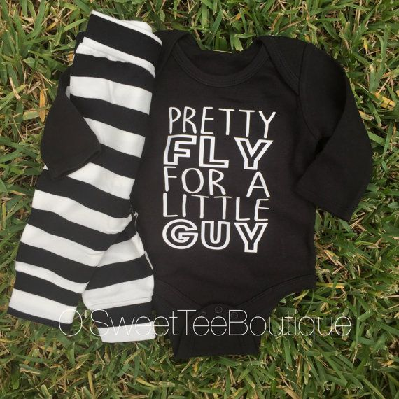 Pretty Fly for a Little Guy Outfit // Baby Boy
