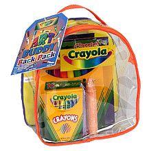 "Crayola - Art Buddy Back Pack - Crayola - Toys ""R"" Us"