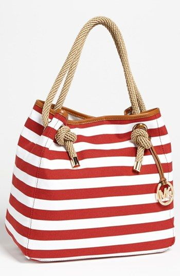 Kinda loving this tote for spring/sumer time! MICHAEL Michael Kors 'Marina - Large' Tote