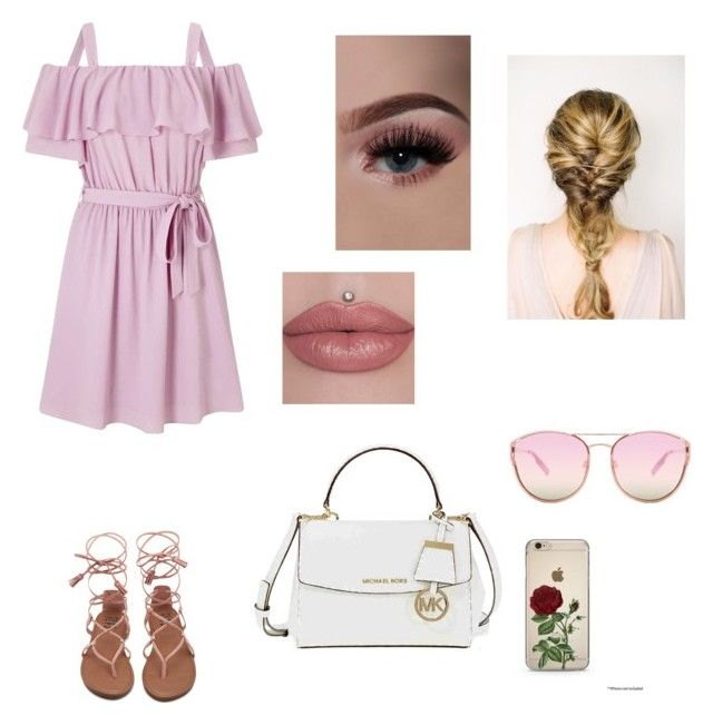 Reagan's Casual (ch.24) by xrielle17 on Polyvore featuring Miss Selfridge, Michael Kors and Quay