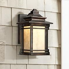 Outdoor Led Light Fixtures 1024 best outdoor lighting images on pinterest appliques outdoor hickory point 12 high outdoor led light workwithnaturefo