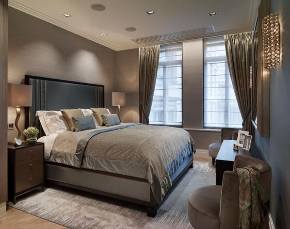Charcoal gray bedroom classy for the home pinterest for Charcoal grey bedroom