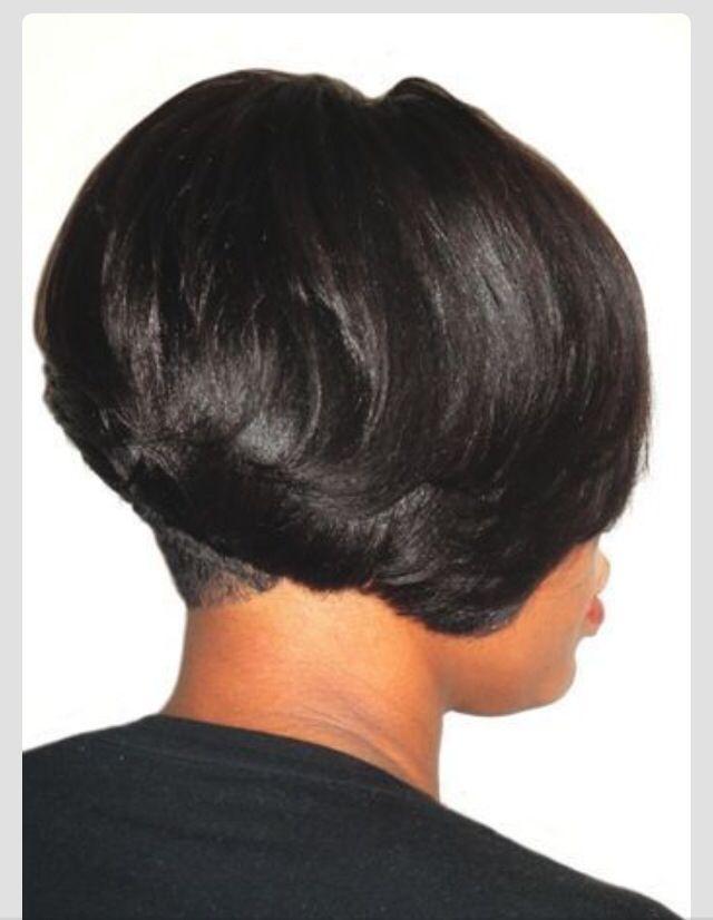 African American hair bob cut!!   Hair Styles   Short hair styles ...