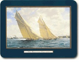 Not Pimpernel, but the same style cork-backed placemats. Love the sailing theme. 4 different scenes. $39.25