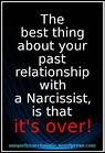 """Quote """"The best thing about your past relationship with a ..."""