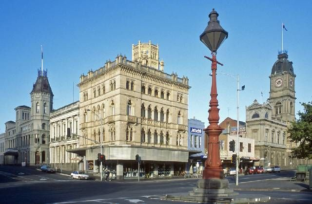 Ballarat - beautiful architecture
