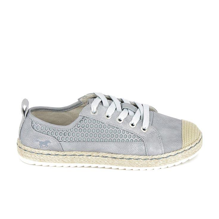 MUSTANG Sneakers 1245301 gris