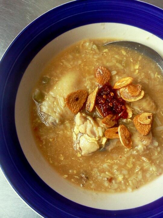 Chinese style- Chicken and Rice Porridge