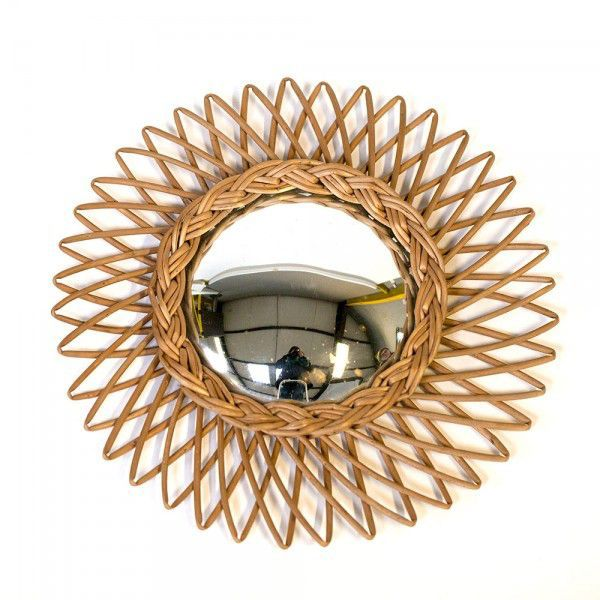 17 best images about accessoires vintage on pinterest for Grand miroir soleil