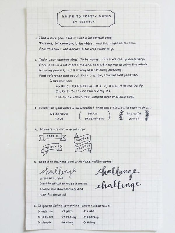 I am obsessed with beautiful handwriting and this little mini guide to help you learn how to draw banners and fauxligraphy is perfect! I absolutely think that neat handwriting can say so much. You can also learn how to improve your handwriting as a grown up on HHMUK http://www.hearthandmade.co.uk/25-amazing-examples-perfect-handwriting/