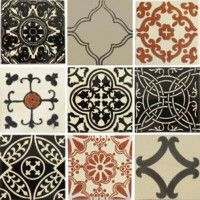 Black And White Mexican Tile Techieblogieinfo - Black and white talavera tile