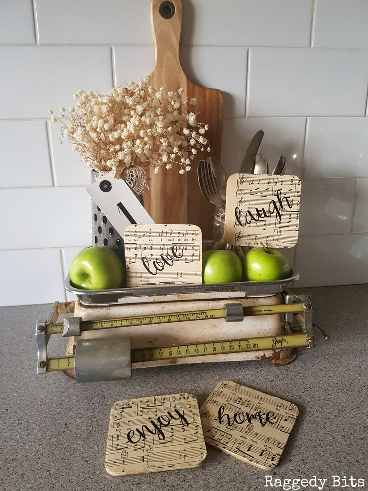"These fun new line of Farmhouse Labels can be stuck onto pretty well much any surface. This set includes the 4 words ""love, home, enjoy and laugh"". Can be applied to surfaces such as glass, galvanised, wood, ceramic or plastic. They are made from vinyl and can be used outside and are dishwasher safe. …"
