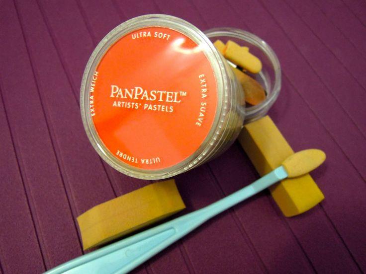 Como utilizar los Pan pastel: 5 técnicas diferentes. Tutorial Scrapbook ...