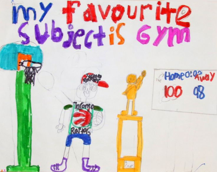 Un élève de la Wasse Abin Junior School montre son intérêt pour l'#éducation physique dans son dessin. #octoeeo #PNMI #FNMIed