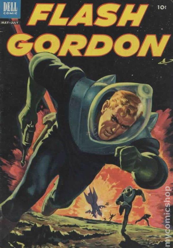 FLASH GORDON 2, GOLDEN AGE DELL COMICS