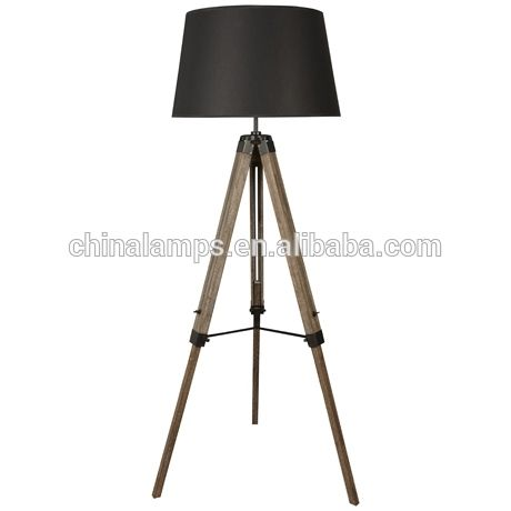 Indoor antique tripod floor lamp with big black fabric lampshade for hotle/inn/hostel furniture supply, View Indoor antique tripod floor lamp, Chinalamps Product Details from Zhongshan City Henglan Town China Lamps Sale Department on Alibaba.com
