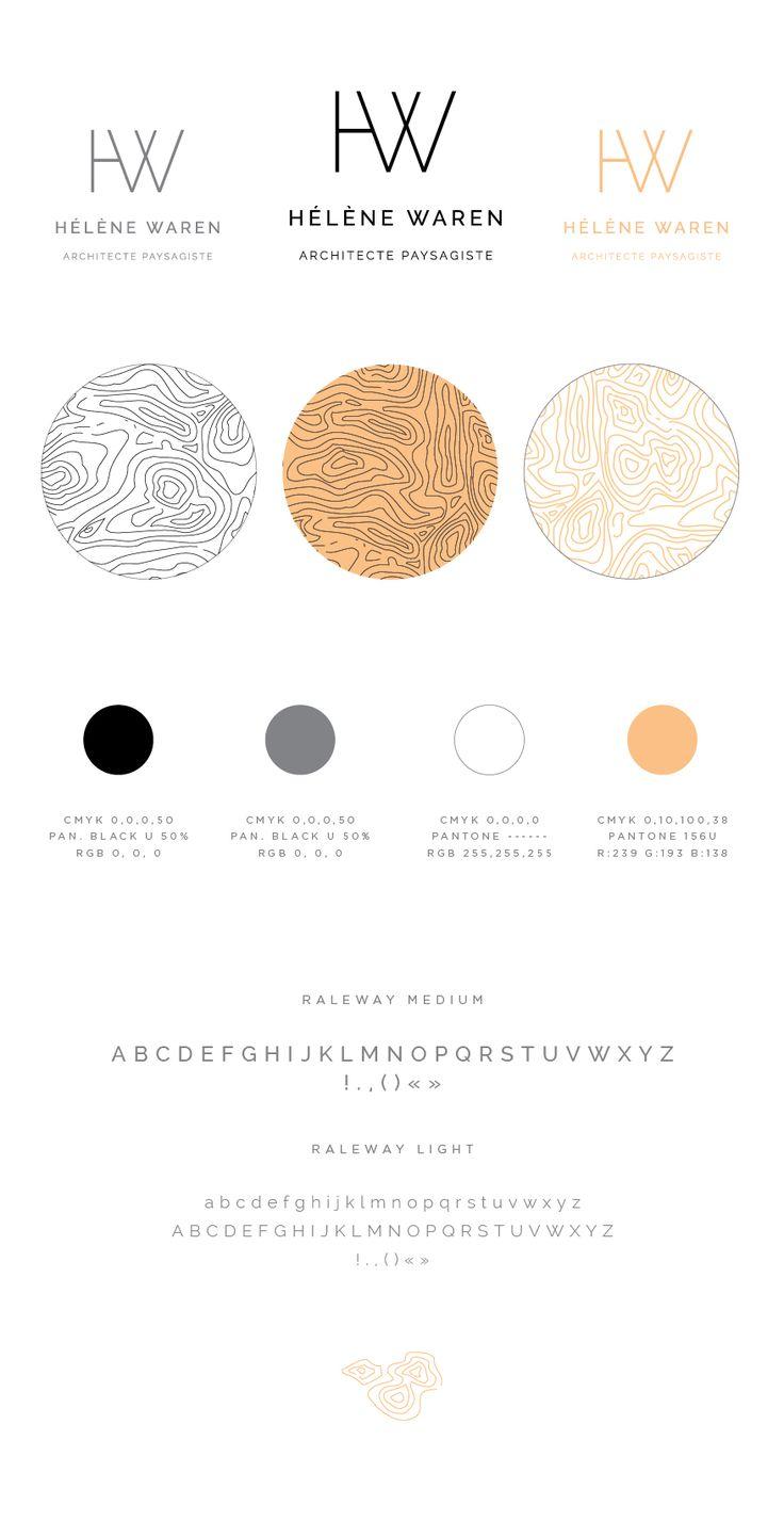 Hélène Waren est une architecte paysagiste de talent. Son logo sous forme demonogrammeest tout en simplicité et modernité, ce qui permet un certain jeu de texture en superposition. Le motif est u…