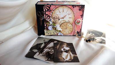album, vintage, foto