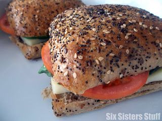 tomato basil and cheese sandwich more healthy meals recipes sandwiches ...