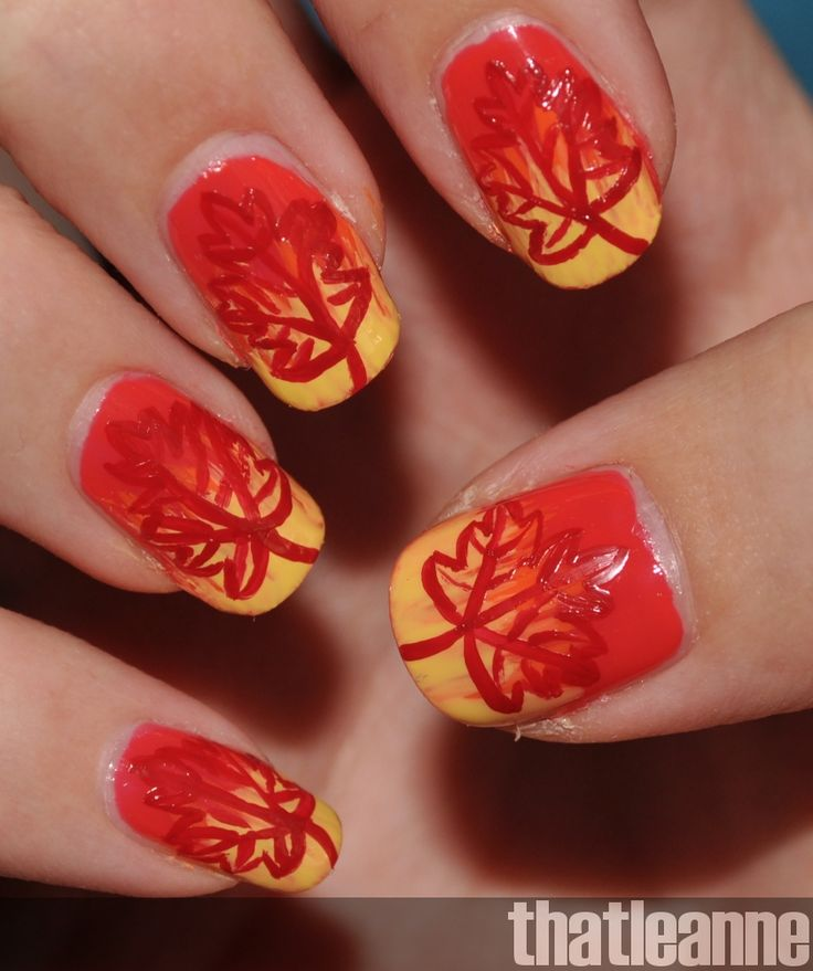 7 best Fall themed nails images on Pinterest   Autumn nails, Fall ...
