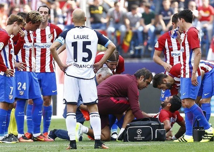 Augusto Fernández siete meses de baja por la rotura del ligamento cruzado anterior