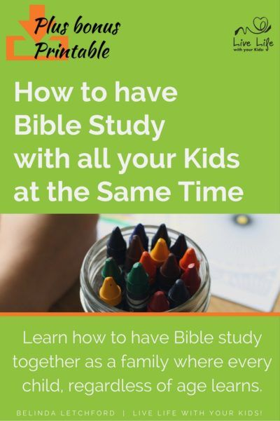 Bible Study Guide For All Ages Review of the Primary Set ...