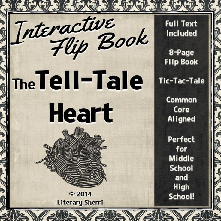 tell tale heart and the lotter essay Works as irving's rip van winkle and poe's the tell-tale heart  and has  revised her introductory essay to the first edition, in which she offers the fruit of.