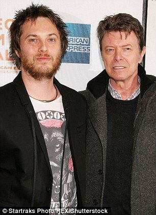 David Bowie's son Duncan Jones (pictured together) returned to Twitter today to share a link to a moving letter a palliative care doctor scribed to his father