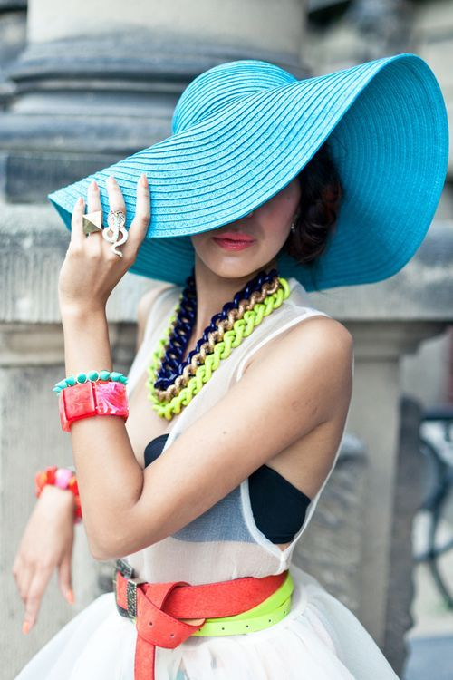 bright accessories Spring Wardrobe Must Haves