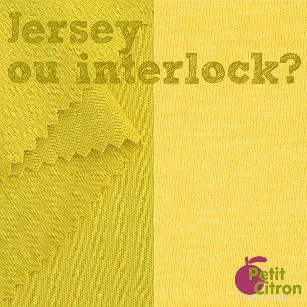 Quelle est la différence entre interlock et jersey? | astuce | Blog de Petit Citron
