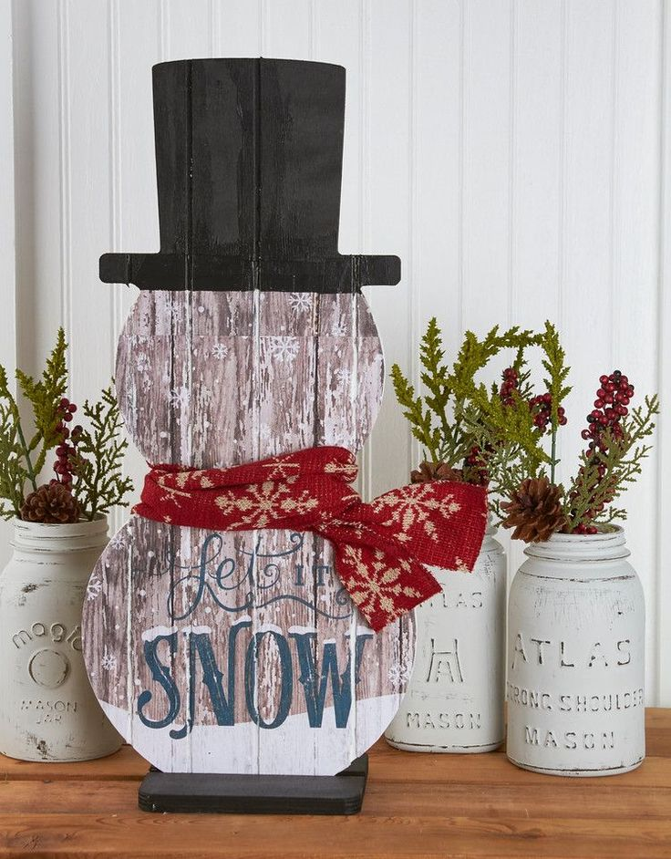 Our etched snowmen are the perfect addition to your winter decor. Each snowman is grooved to add interest and dimension and every snowman is different! Each snowman also comes with a base.
