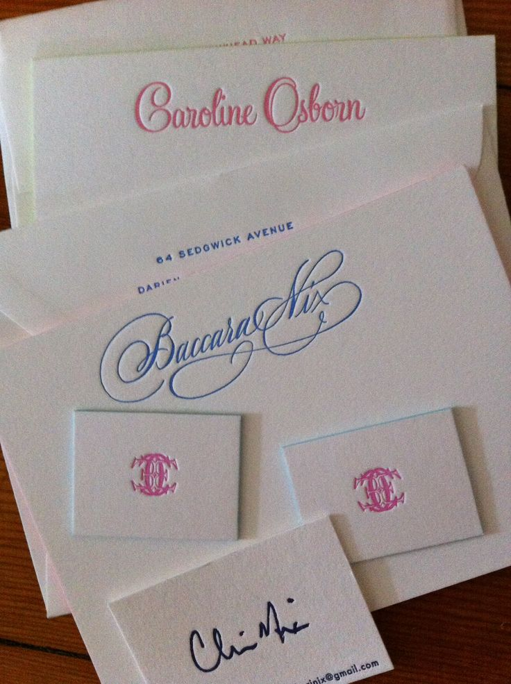 images about personalized stationery