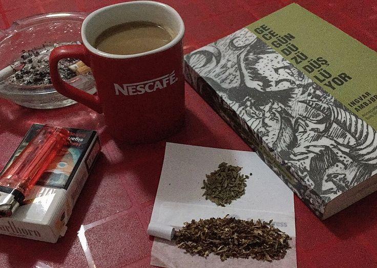 #book #marijuana #coffee