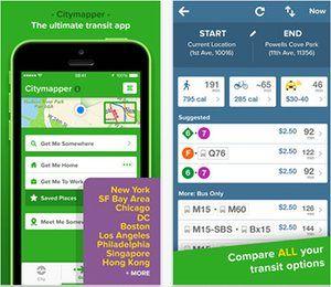 City mapper citymapper.com (iOS)