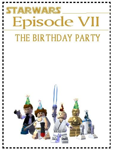 107 best star wars images on pinterest | star wars party, star, Birthday invitations