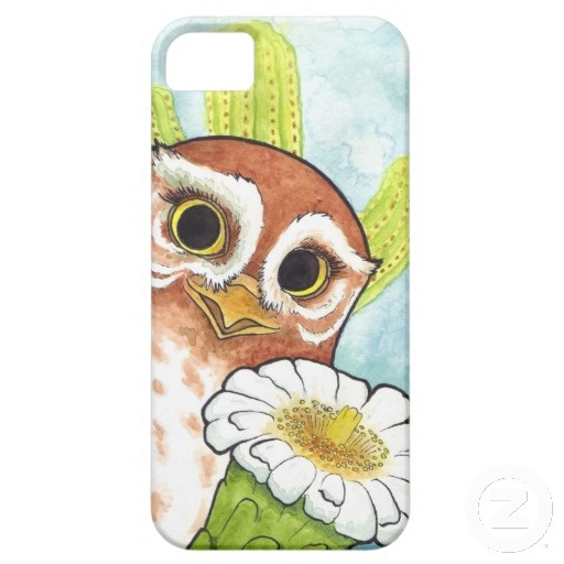 Elf Owl Blossom iPhone 5 Case - $47.95 from Zazzle.com #owl #gylfie #LOTG