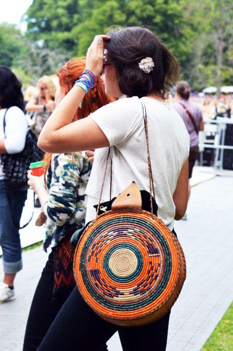 Woven bag! Amazing!