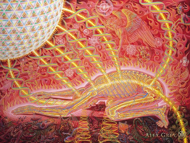 Alex Grey - Prostration