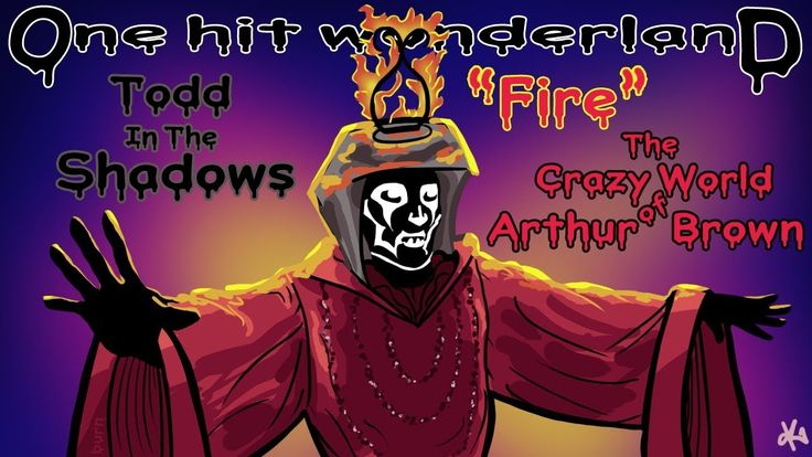 """ONE HIT WONDERLAND: """"Fire"""" by The Crazy World of Arthur Brown - YouTube"""