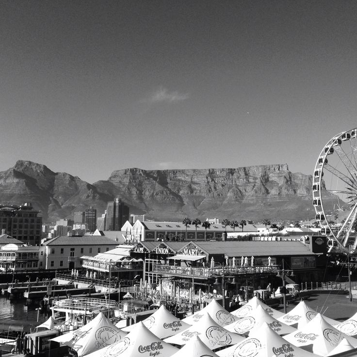 V&A Waterfront is a hot spot in Cape Town. Awesome