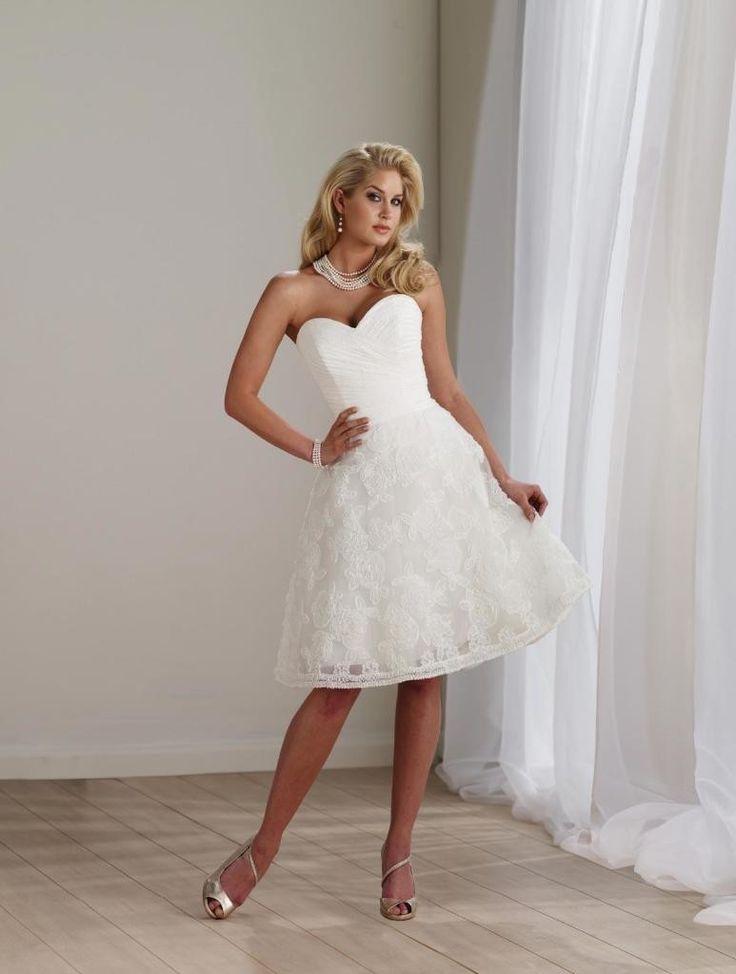 Affordable A Line Sweetheart Knee Length Short Reception Wedding Dresses13 best Dresses images on Pinterest   Wedding dressses  Wedding  . Plus Size Wedding Reception Dresses For The Bride. Home Design Ideas