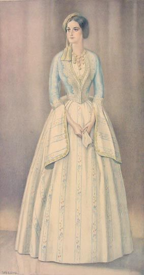 NICOLAS SPERLING #04 - Lady's Gala Dress of 1835