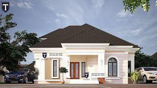 TALIGHTNG: Four bedroom bungalow in Nigeria in 2020 ...