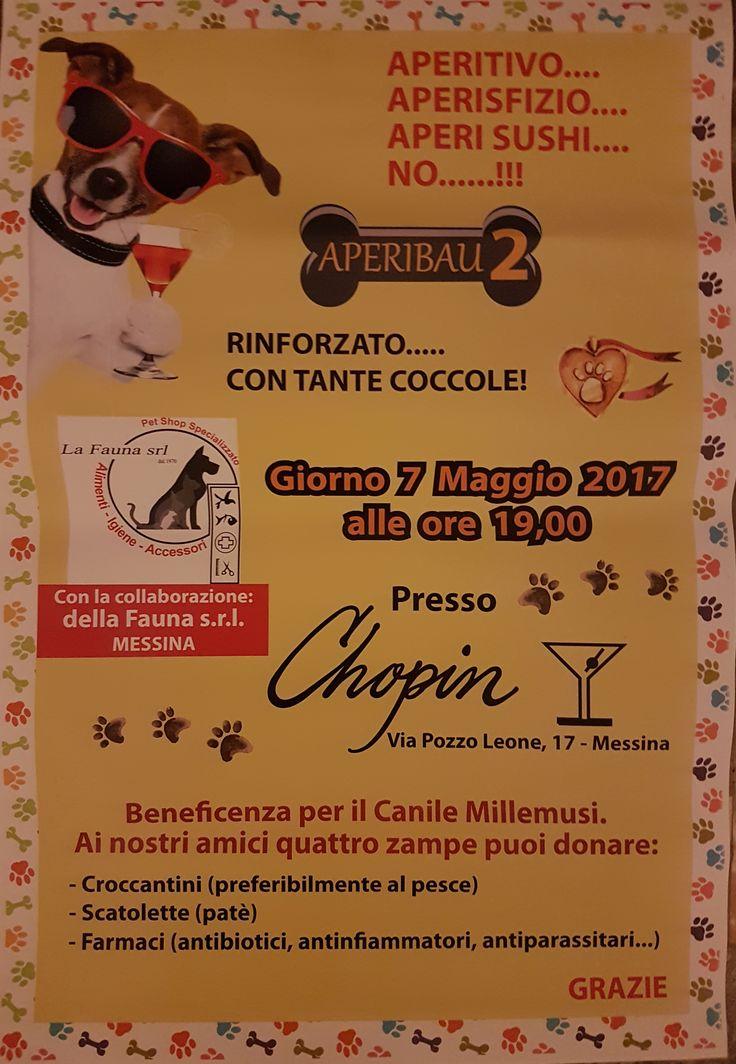 7/5 Aperibau benefit per il #canile #Millemusi della #LNDC #Messina